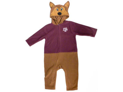 Texas A&M Aggies NCAA Toddler Mascot Fleece Outfit