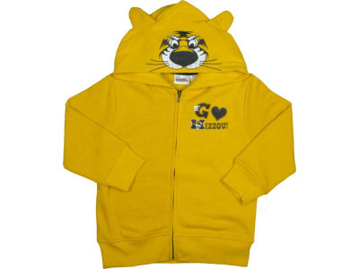 Missouri Tigers NCAA Youth 3D Mascot Zip Hoodie