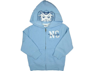 North Carolina Tar Heels NCAA Youth 3D Mascot Zip Hoodie