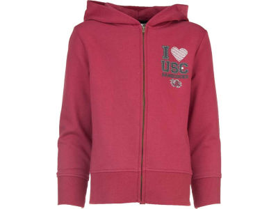 South Carolina Gamecocks NCAA Youth 3D Mascot Zip Hoodie
