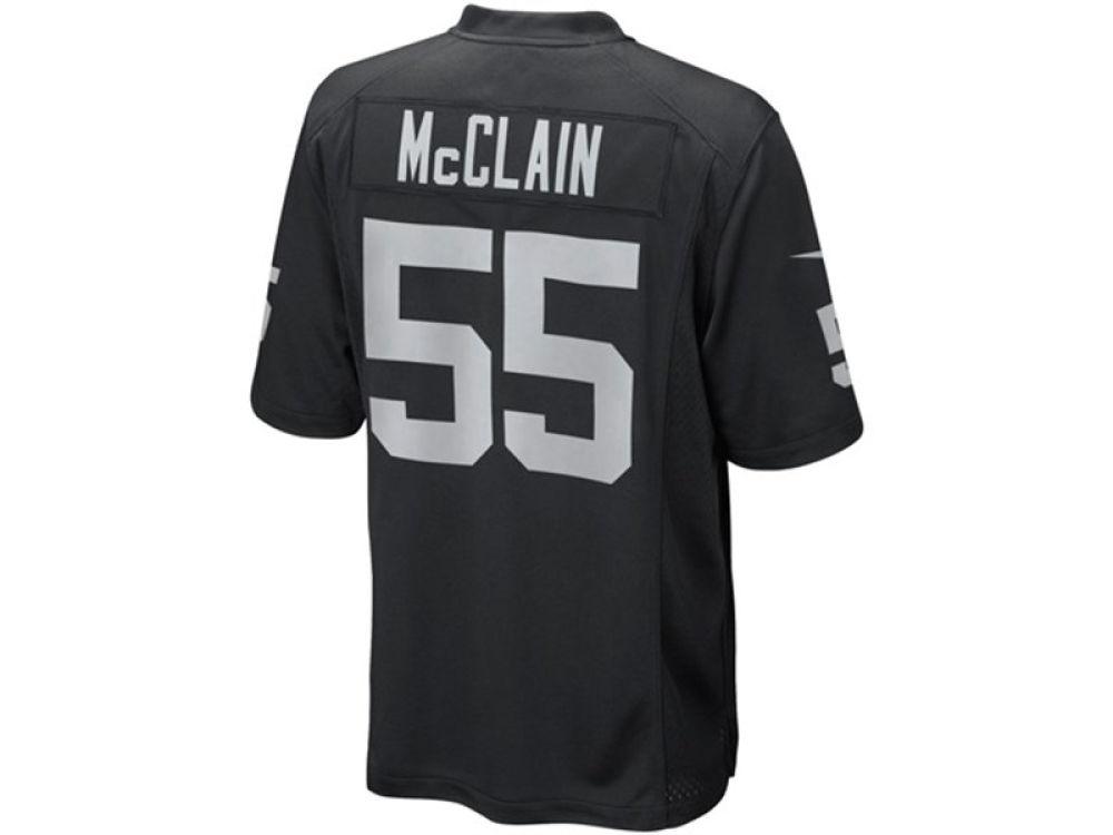 5b7b5f61 Oakland Raiders Rolando Mcclain Nike NFL Men's Limited Jersey
