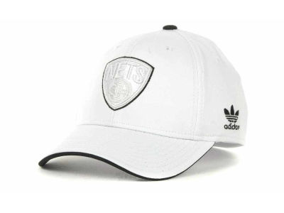 Brooklyn Nets adidas NBA White Swat IV Cap