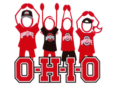 Ohio State Buckeyes Vinyl Decal
