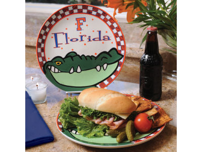 Florida Gators Ceramic Plate