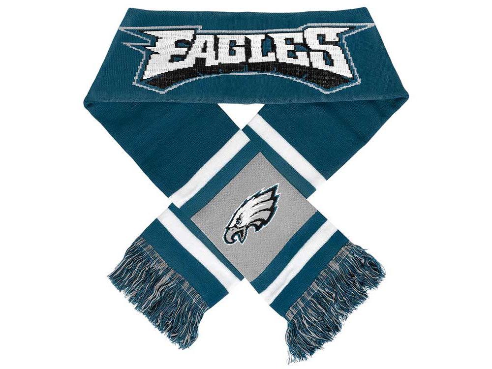 size 40 e2713 9c56b Philadelphia Eagles Team Stripe Scarf