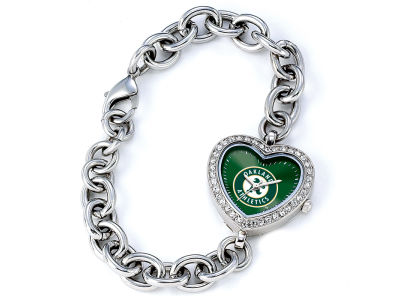 Oakland Athletics Womens Heart Series Watch