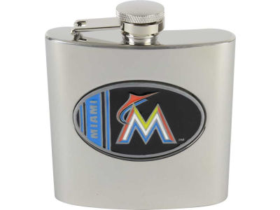 Miami Marlins Hip Flask
