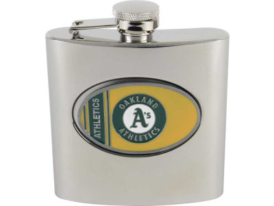 Oakland Athletics Hip Flask