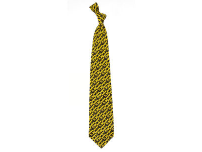 Iowa Hawkeyes Necktie Nexus Print Silk