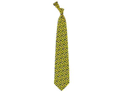 Michigan Wolverines Necktie Nexus Print Silk