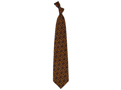 Texas Longhorns Necktie Nexus Print Silk