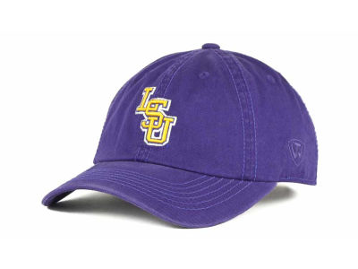 LSU Tigers Top of the World NCAA Crew Adjustable Cap