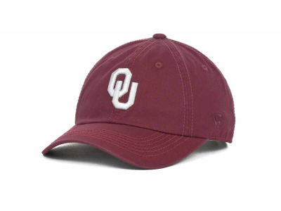 Oklahoma Sooners Top of the World NCAA Crew Easy Adjustable Cap