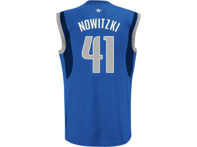 Dallas Mavericks Dirk Nowitzki adidas NBA Rev 30 Replica Jersey