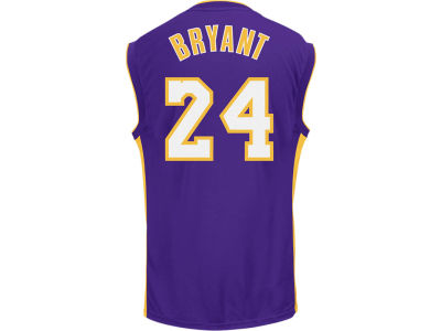 Los Angeles Lakers Kobe Bryant adidas NBA Rev 30 Replica Jersey