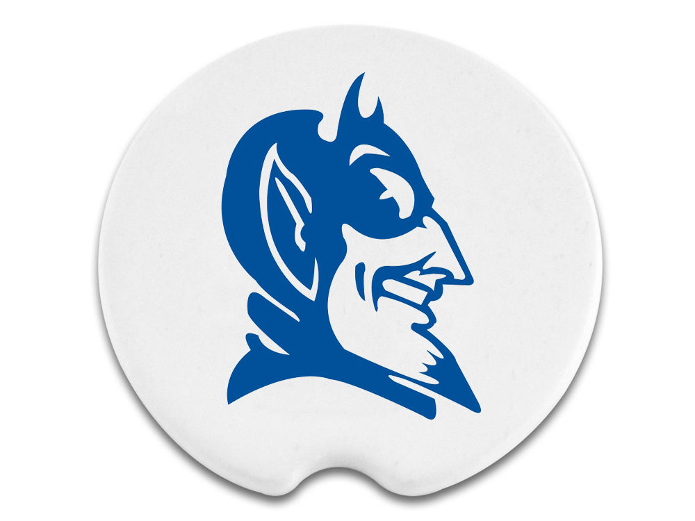 Duke Blue Devils 2 Pack Car Coasters Lids