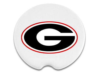 Georgia Bulldogs 2 Pack Car Coasters