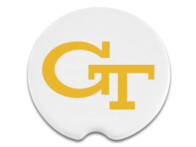 Georgia-Tech 2 Pack Car Coasters