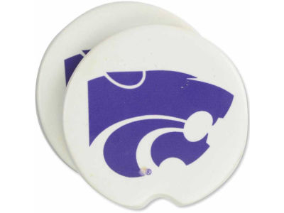 Kansas State Wildcats 2 Pack Car Coasters