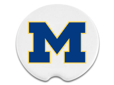 Michigan Wolverines 2 Pack Car Coasters