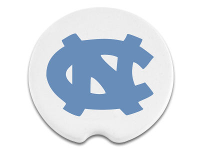 North Carolina Tar Heels 2 Pack Car Coasters