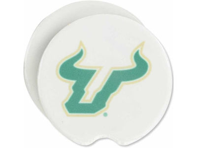 South Florida Bulls 2 Pack Car Coasters