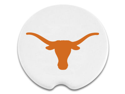 Texas Longhorns 2 Pack Car Coasters