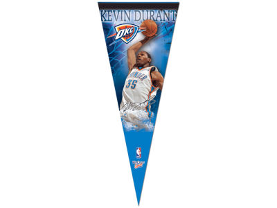 Oklahoma City Thunder Kevin Durant 12x30 Premium Player Pennant