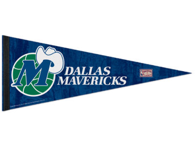 Dallas Mavericks 12x30in Pennant
