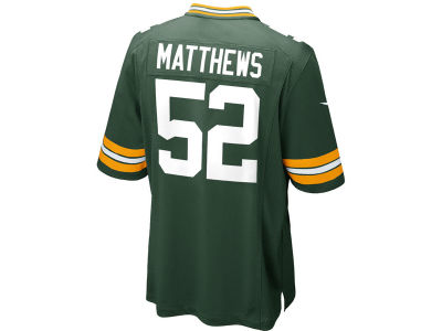Green Bay Packers Clay Matthews Nike NFL Youth Limited Jersey