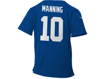 New York Giants Eli Manning NFL Kids Game Jersey