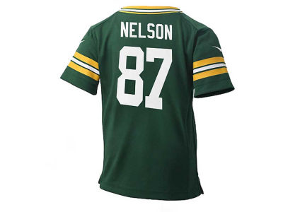 Green Bay Packers Jordy Nelson NFL Kids Game Jersey