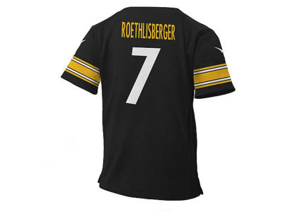 Pittsburgh Steelers Ben Roethlisberger NFL Kids Game Jersey