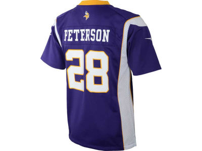 Minnesota Vikings Adrian Peterson Nike NFL Kids Game Jersey