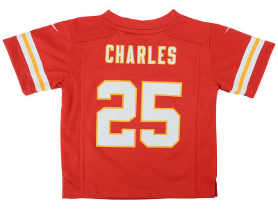 Kansas City Chiefs Jamaal Charles NFL Toddler Game Jersey