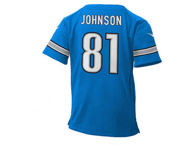 Detroit Lions Calvin Johnson NFL Toddler Game Jersey