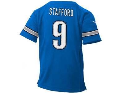 Detroit Lions Matthew Stafford NFL Toddler Game Jersey