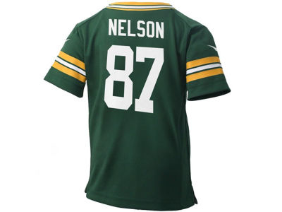 Green Bay Packers Jordy Nelson NFL Toddler Game Jersey