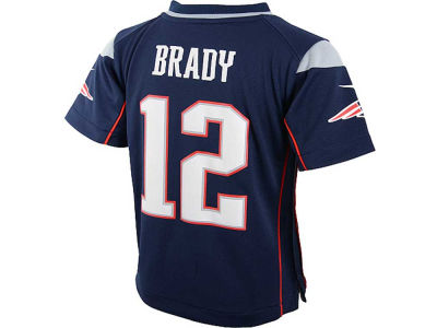 New England Patriots Tom Brady Nike NFL Toddler Game Jersey