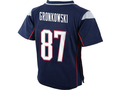 New England Patriots Rob Gronkowski NFL Toddler Game Jersey