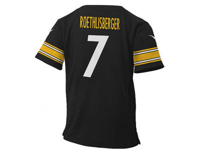 Pittsburgh Steelers Ben Roethlisberger NFL Toddler Game Jersey