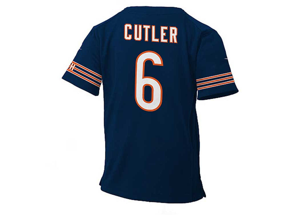 new style b4b39 8c4b5 Chicago Bears Jay Cutler NFL Infant Game Jersey