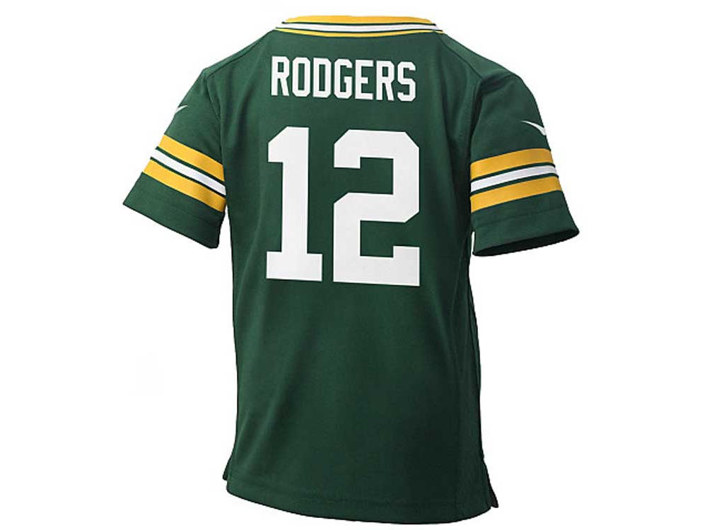 Green Bay Packers Aaron Rodgers Nike NFL Infant Game Jersey  2120be12c