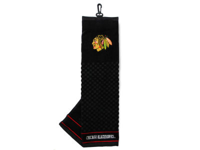 Chicago Blackhawks Trifold Golf Towel