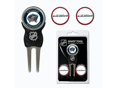 Columbus Blue Jackets Divot Tool and Markers