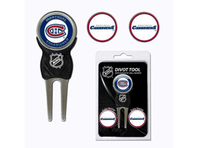 Montreal Canadiens Divot Tool and Markers