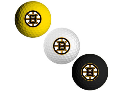 Boston Bruins 3-pack Golf Ball Set