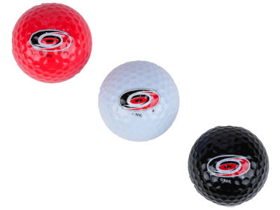 Carolina Hurricanes 3-pack Golf Ball Set