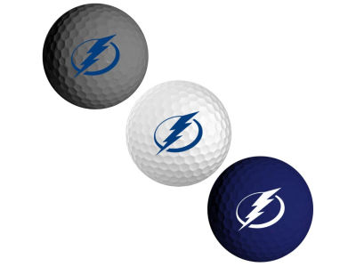 Tampa Bay Lightning 3-pack Golf Ball Set