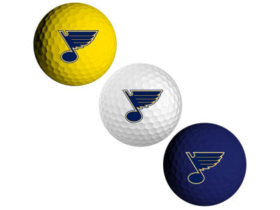 St. Louis Blues 3-pack Golf Ball Set
